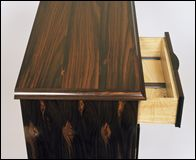 Rosewood Sideboard end view