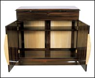 Rosewood Sideboard Front and internal view
